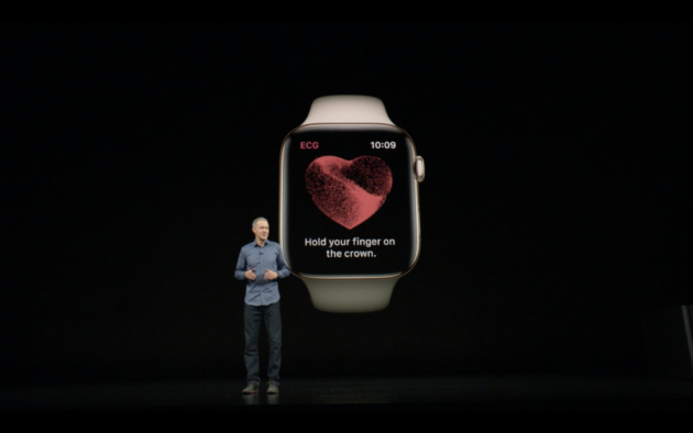Apple unveils new Watch Series 4 with ECG sensor