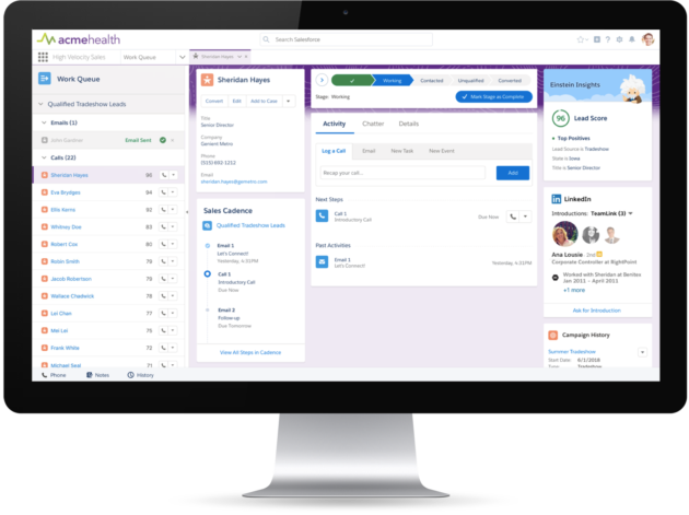 Salesforce intros new Sales Cloud features for billing, marketing automation