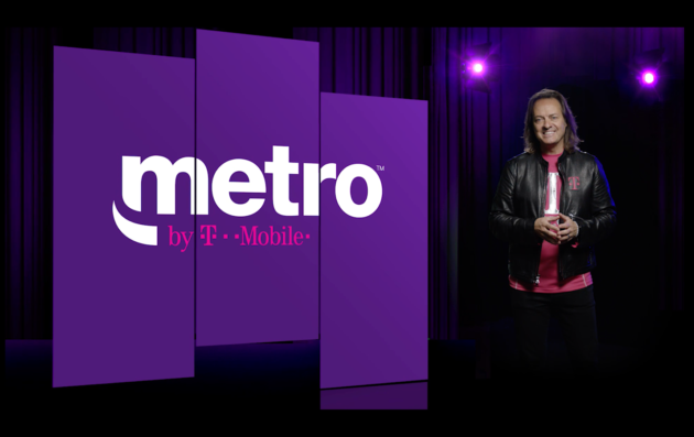 Mobile rebrands MetroPCS prepaid service as 'Metro by T