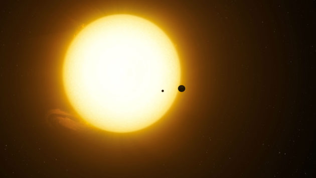 First Exomoon Possibly Discovered Orbiting in a Distant Star System