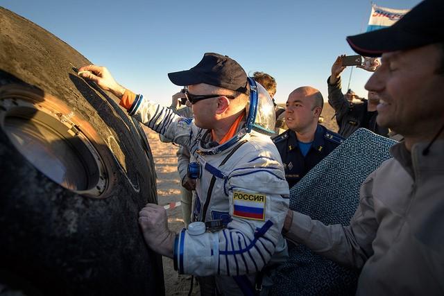 Oleg Artemyev and Soyuz