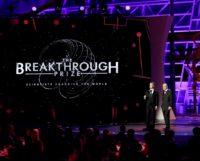 Zuckerberg and Milner at Breakthrough Prize
