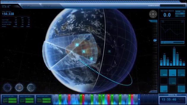 Satellite visualization