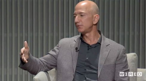 Jeff Bezos Defends Amazon Bid for Pentagon Cloud Project