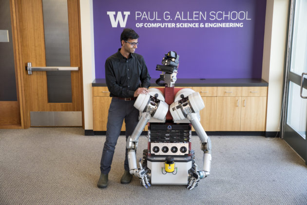 Curious about whether robots can be curious? University of Washington joins initiative to find out