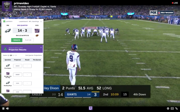 Review: Amazon's Twitch NFL live stream shows potential