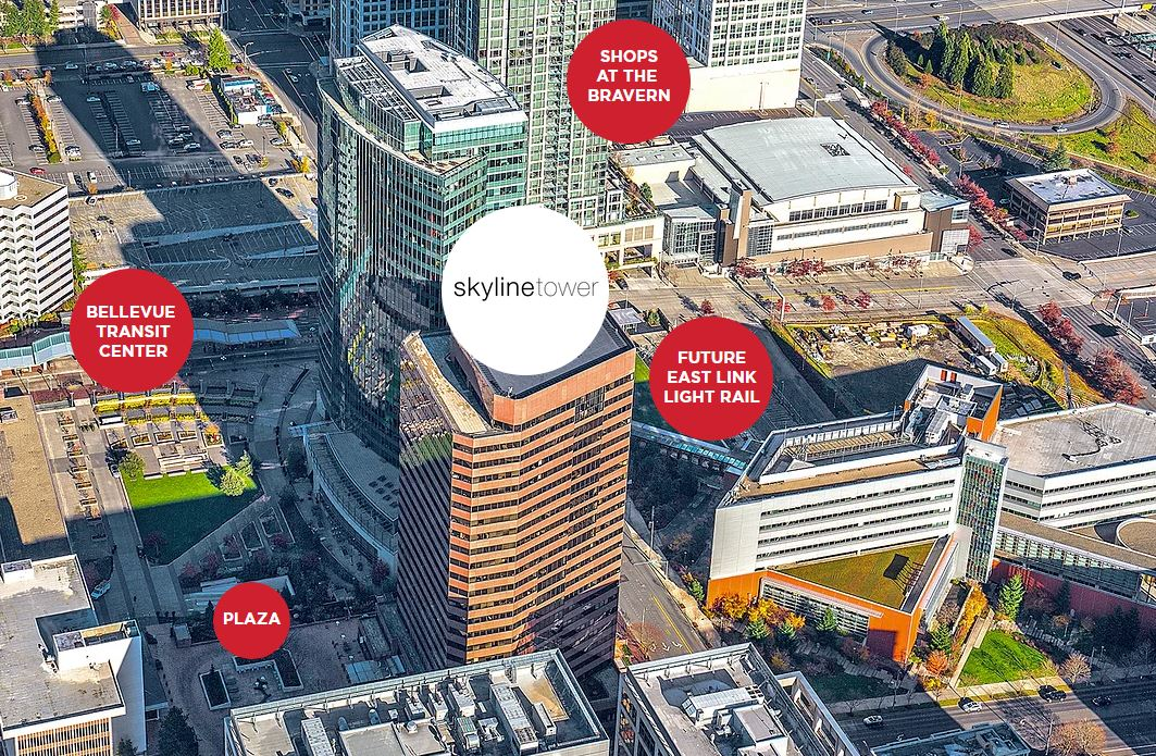 Facebook inks two more leases in Bellevue, as tech companies hedge their bets across Seattle region