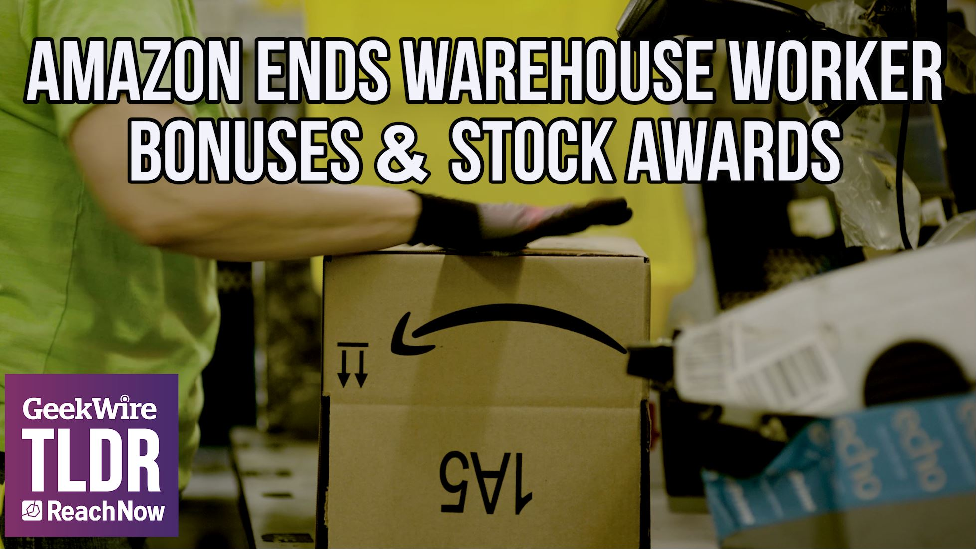 TLDR: Amazon ends warehouse worker bonuses & stock awards