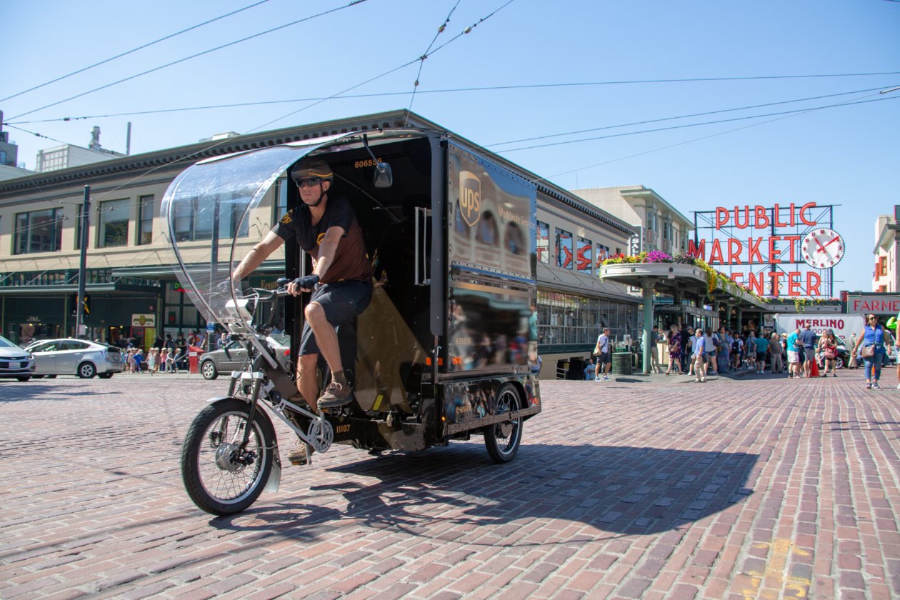 Ups Launches Cargo E Bike Delivery In Seattle Returning To Bicycle Courier Origins A Century Later