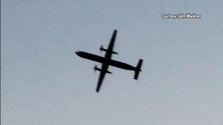Video captures Amazon Air cargo plane in final seconds