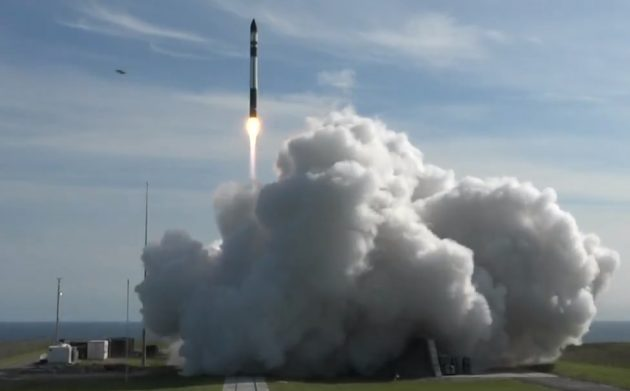 California-based startup Rocket Lab launches first commercial mission