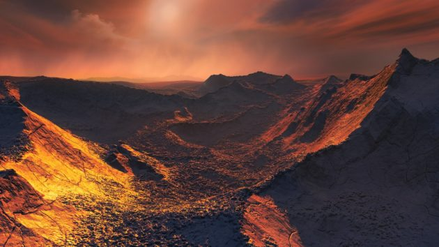 Scientists report a super-Earth orbiting Barnard's Star, a mere 6 light-years away