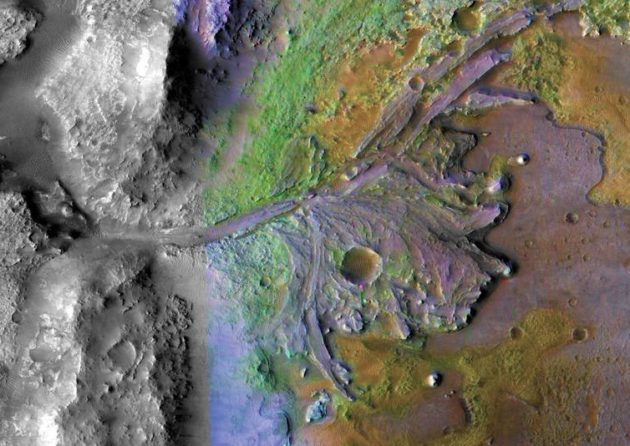 NASA picks ancient Martian river delta for rover landing