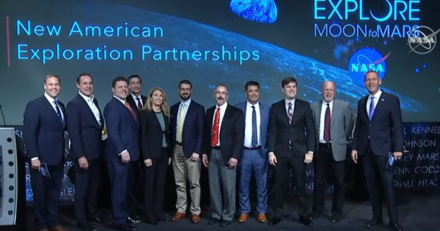 Nasa turns to private sector for next moon mission