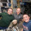 Space station trio