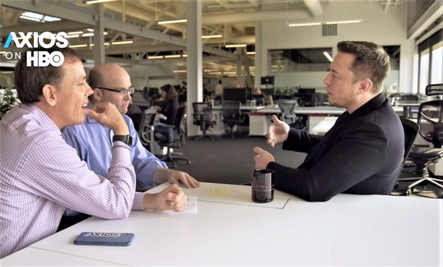 Axios interview with Elon Musk