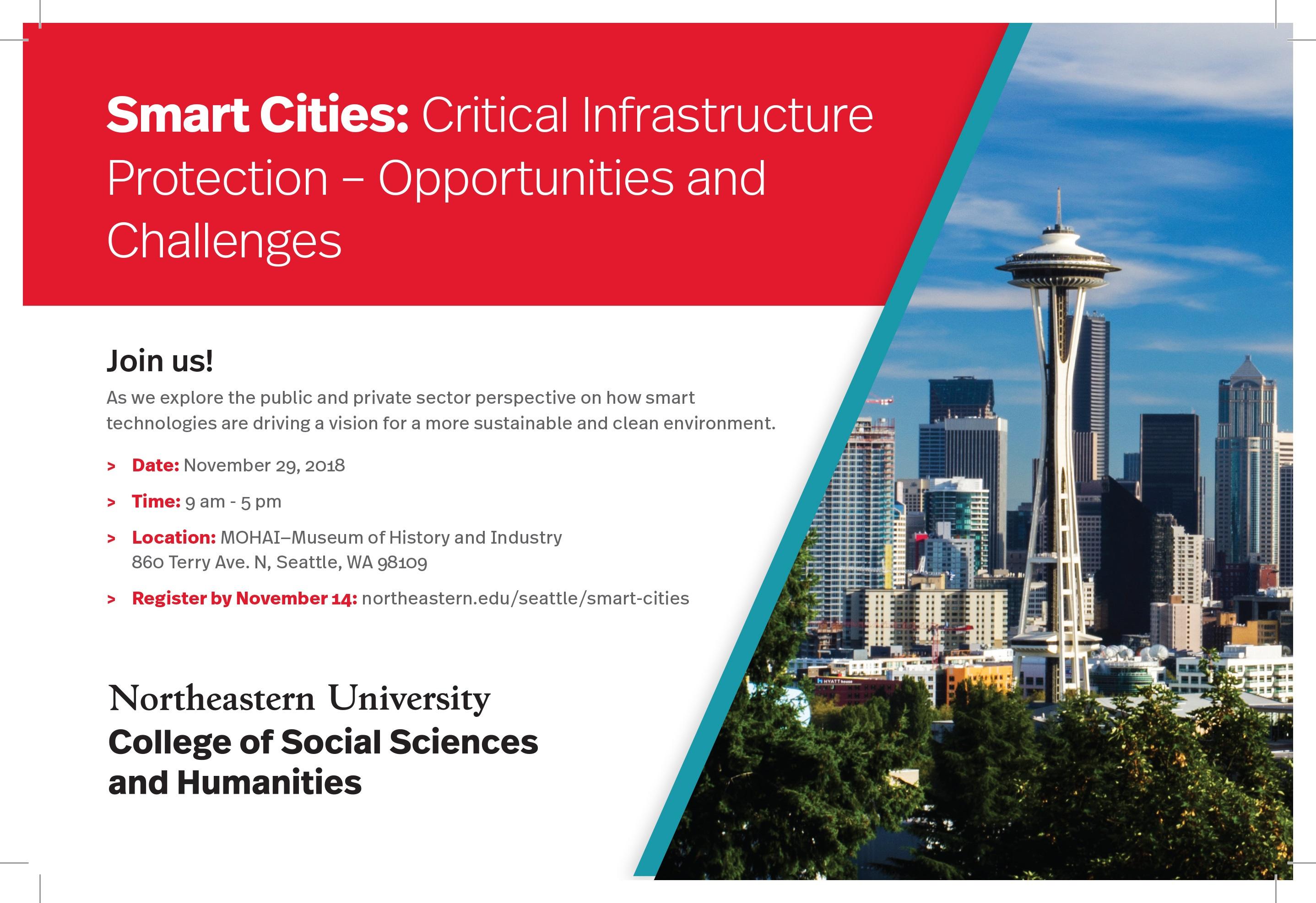 Smart Cities Infrastructure Protection Opportunities Challenges