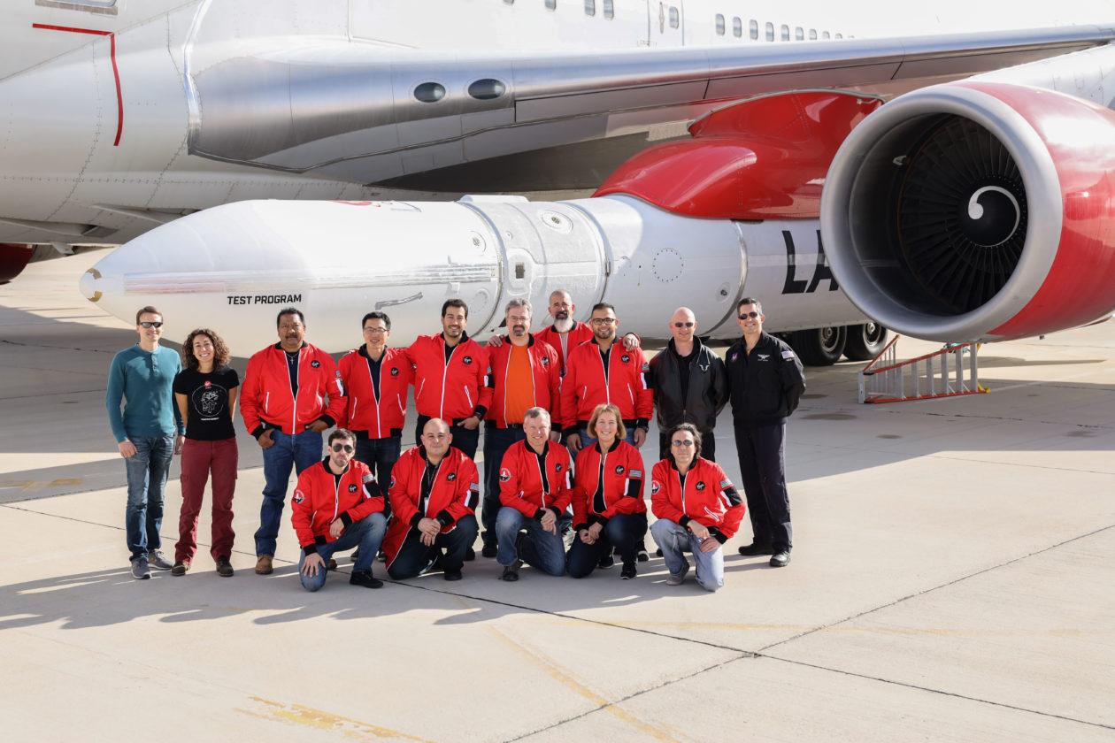 Virgin Orbit team