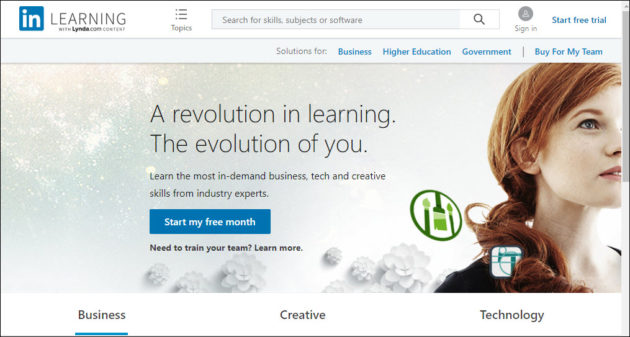 LinkedIn Learning embraces content from education companies, integrating it in one platform