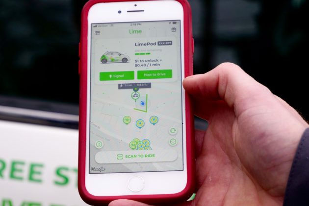 We Tested Lime S New Car Sharing Service Limepod That Will Take On