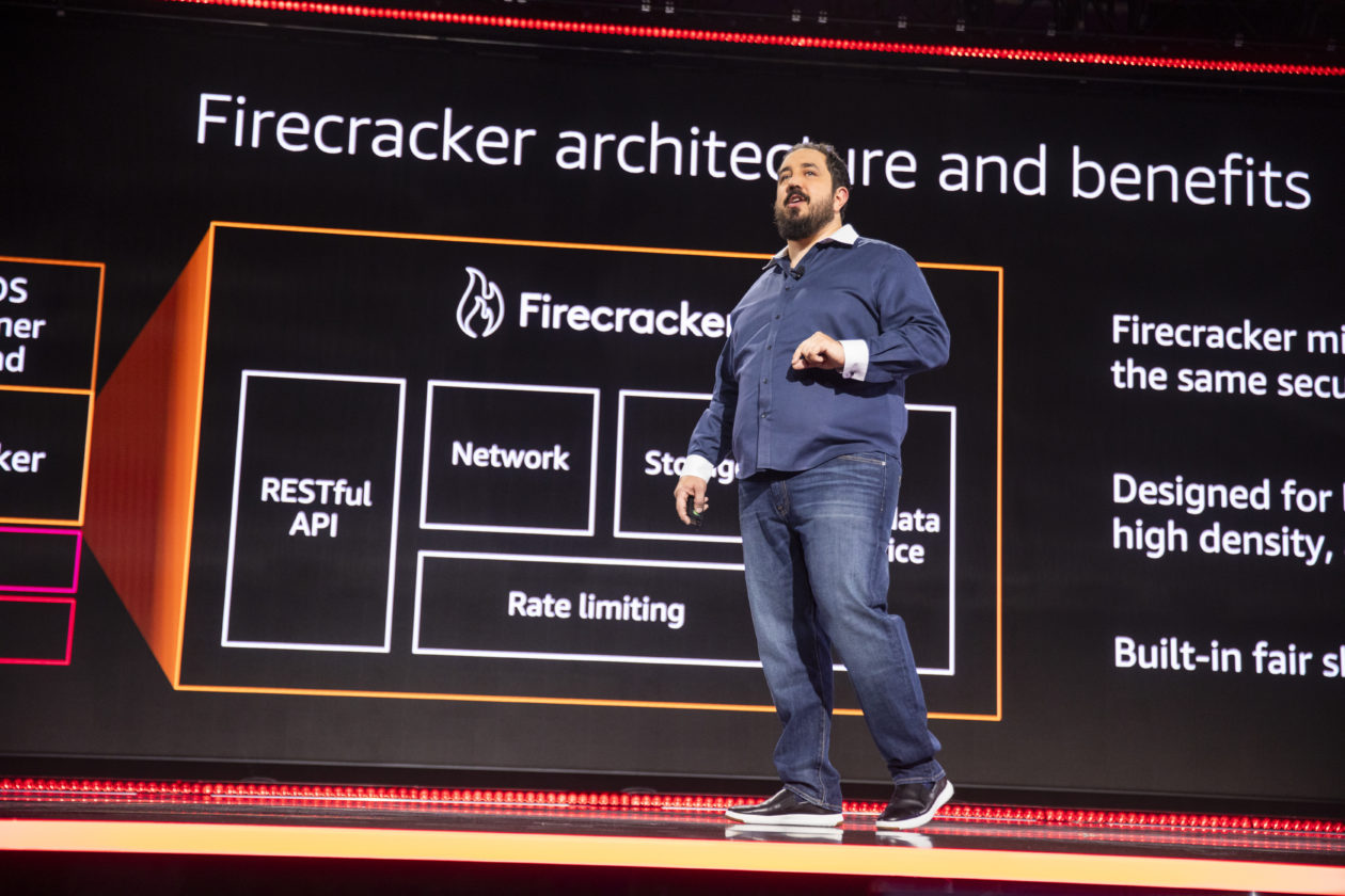 With Firecracker, Amazon Web Services reinvents its serverless