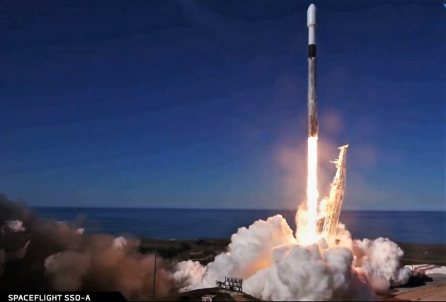 SpaceX launches 64