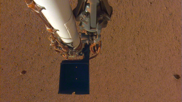 The probe gave InSight to the sounds of the wind on Mars