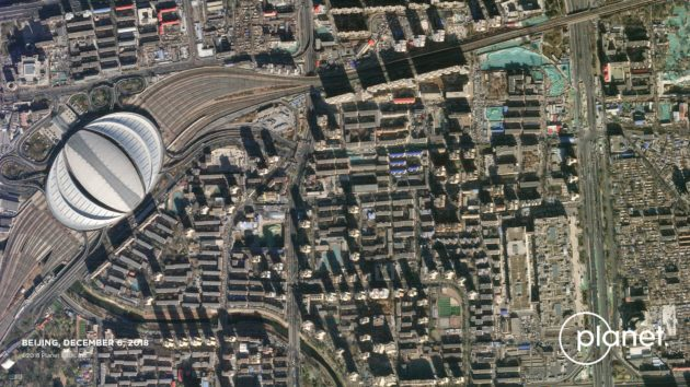SkySat view of Beijing