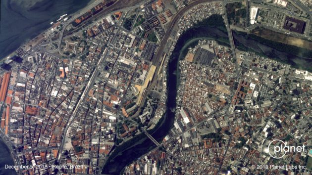 SkySat view of Recife