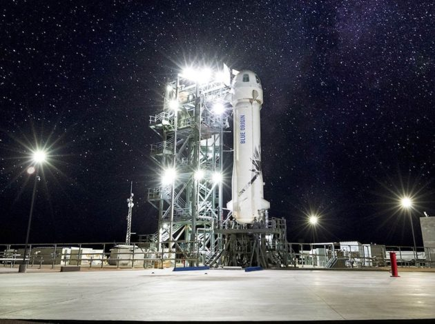 Blue Origin says 'we are go' for New Shepard suborbital test