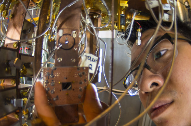 Quantum computing research