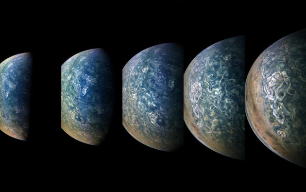 Juno view of Jupiter