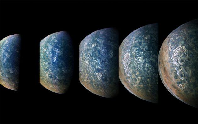 Juno view of Jupiter