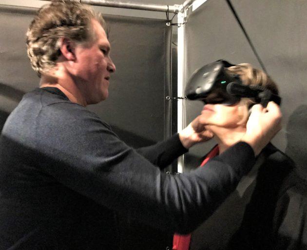 Portal VR session