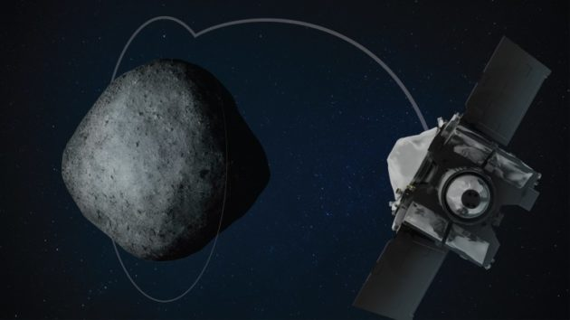 NASA space probe Osiris-Rex begins orbiting asteroid, makes history