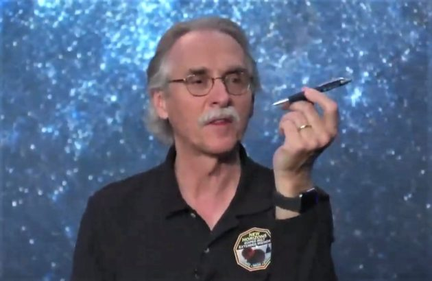 John Spencer demonstrating Ultima Thule rotation