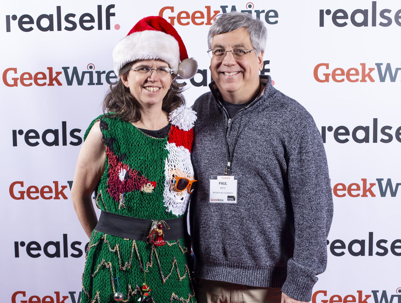 A talking ugly Christmas sweater? Check out this Seattle