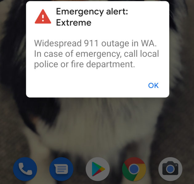 Service Restored In Clark County, Washington After Delayed, Confusing Emergency Alerts