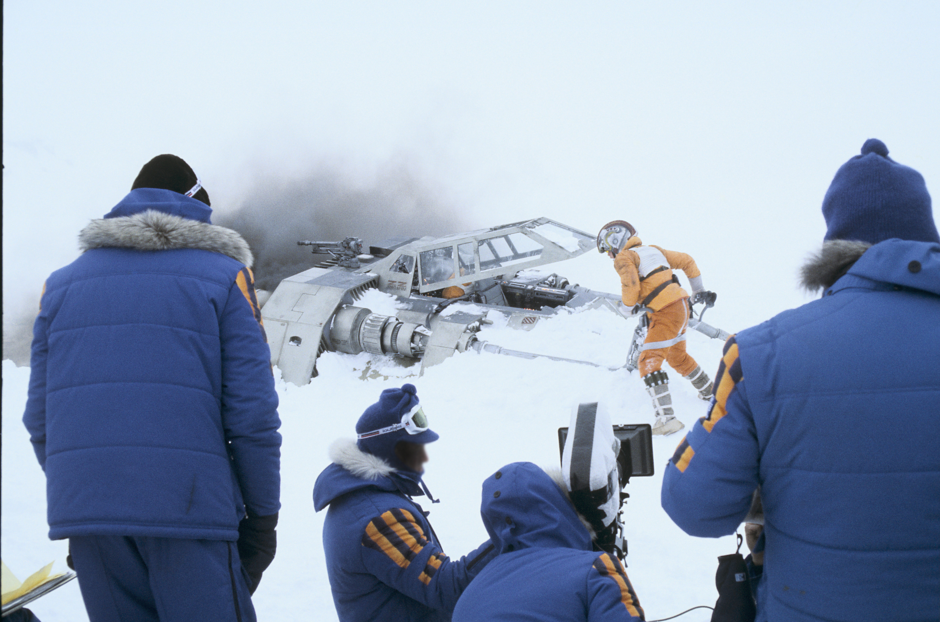 Bundle Up In Columbia S New Star Wars Parka Just Like Cast And Crew Wore For Empire Strikes Back Geekwire