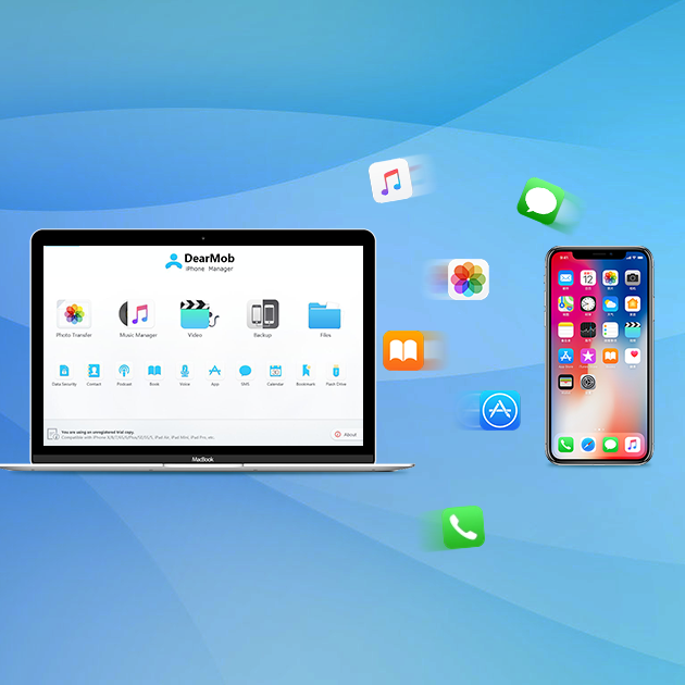 DearMob iPhone Manager: Reformulate the Way of iPhone Data Transfer
