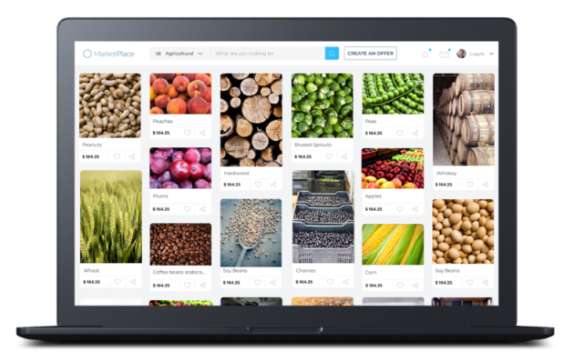 Global commodity trade logistics management software startup