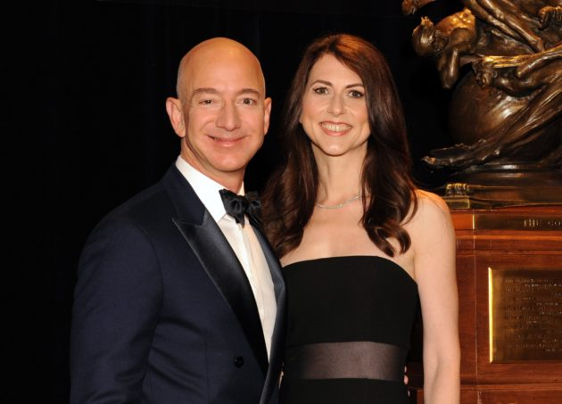 Image result for images jeff and mackenzie bezos
