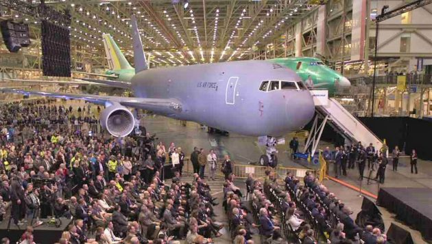 Surprise! Boeing hands Air Force the keys to two KC-46