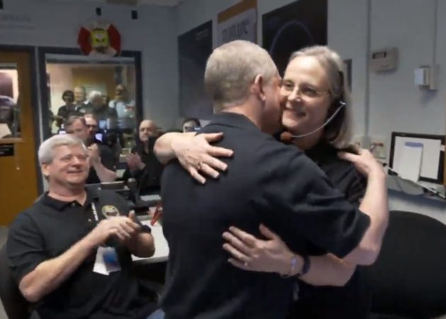 Alice Bowman and Alan Stern