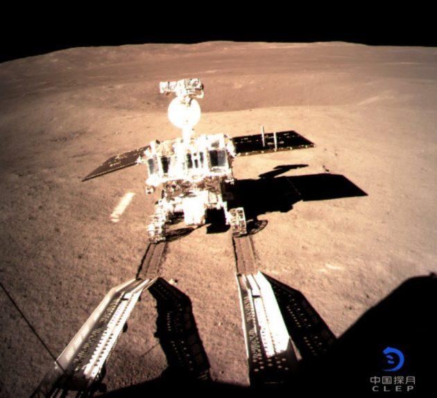 Yutu 2 rover on lunar far side