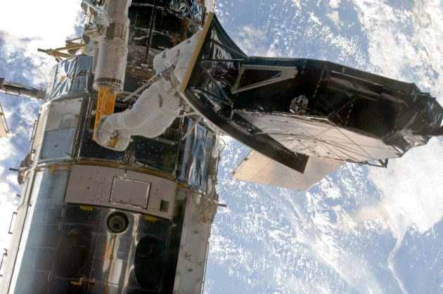 Hubble Space Telescope's team works to revive camera amid NASA shutdown