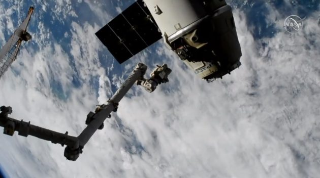 Dragon Cargo Spacecraft Undocked From ISS, Returns to Earth