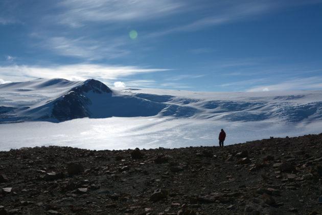 Antarctica's Graphite Peak
