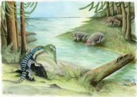 Triassic scene