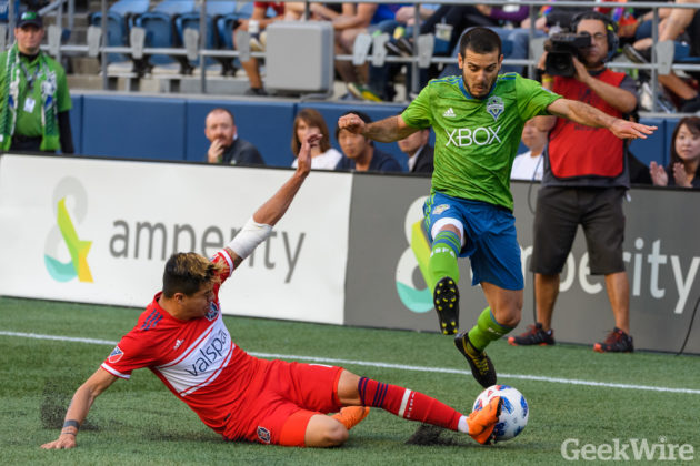 Seattle Sounders appear poised to announce new jersey sponsor to replace Microsoft Xbox
